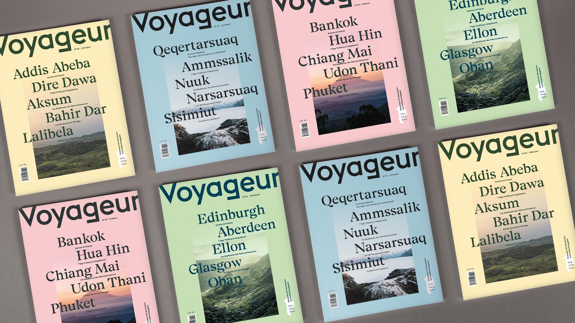 Voyageur – Vordiplomarbeit